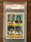 1978 TOPPS #704 LOU WHITAKER RC TIGERS CENTERED PSA 9