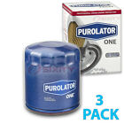 3 Pack Purolator ONE PL10241 Engine Oil Filter 3x Long Life of
