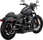 Vance  Hines Black Competition 2 1 Motorcycle Exhaust 14 19 Harley Sportster
