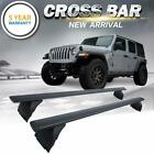 For 2018-2019 Jeep Wrangler JL Top Roof Rack Cross Bar Cargo Carrier OEM Replace