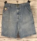 Vintage Boss Jean Shorts Size 38 Hugo Boss