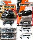 Matchbox Collection of Police Vehicles Ford Corvette Chevy MBX SWAT lot of 6 New