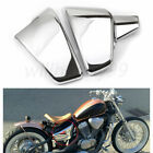 Chrome Battery Side Fairing Cover Fit for Honda Shadow VT600 STEED400 1988-1998