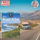 USA ROAD ATLAS Midsize Edition Spiral Bound 2020 Update United States Travel Map