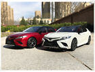1 18 Toyota Camry 2018 Sport 8th generation Diecast Car Model Red White Blue