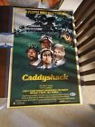 BILL MURRAY & CHEVY CHASE SIGNED CADDYSHACK 12x18 MOVIE POSTER Beckett Bas Rare!
