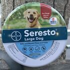 Bayer Seresto flea and tick collar for large dogsnewsealedsupply for 8 months
