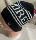 The HUNDREDS Spell-out BEANIE 100% Acrylic Black/ White L.A. Street wear NWT