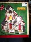NEW LEMAX CHRISTMAS VILLAGES GRACE COMMUNITY CHURCH Bell Tower 65155
