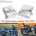 Motorcycle Battery Side Fairing Covers For Harley Dyna 2012-2017 Street Bob FXDB
