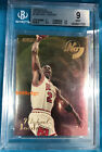 1995-96 E-XL NO BOUNDARIES: MICHAEL JORDAN #1 of 10 CHICAGO BULLS BGS 9 MINT