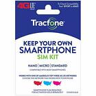 Tracfone Keep Your Own Phone 3 in 1 Prepaid SIM Kit 30 Days of Service