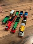 Thomas Trackmaster Lot 8 Trains Duck James Henry Molly Percy Toby Not Working