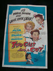 TWO GUYS AND A GAL movie poster ROBERT ALDA JANIS PAGE Original 1951 One sheet