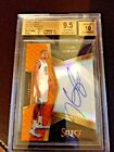 KEVIN DURANT 2016-17 SELECT SIGNATURES PRIZMS ORANGE G.S.WARRORS BGS 9.5 46 60