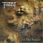 FOZZY All That Remains (CD 2005, Ash Records) 10 Songs Heavy Metal Canada
