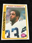 1978 Topps Tony Dorsett RC #315 HOFer No Creases Sharp Corners