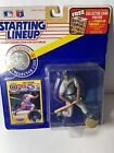 Starting Lineup Cecil Fielder 1991 Detroit Tigers Action Figure + Card w/ Coin