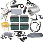 Full set 48v 1800w Brushless Electric Motor Speed Controller Go Kart Cart ATV