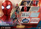 HOT TOYS MARVEL AVENGERS INFINITY WAR IRON SPIDER SPIDER MAN 16 FIGURE MINT