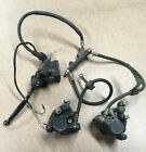 82 83 YAMAHA XJ750 MAXIM COMPLETE FRONT BRAKES, MASTER CALIPERS + LINES