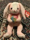 TY Beanie Baby - EGGERTON the Easter Bunny - Pristine with Mint Tags - RETIRED