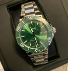 AUTH ORIS Aquis Date Automatic Green Dial Men's Watch 43.5mm Good condition