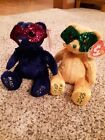 Ty Beanie Babies Mardi Gras and Masque