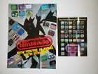 2 POSTERS - Nintendo NES Now Your Playing With Power - Rob the Robot 1987