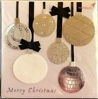Papyrus CHRISTMAS Greeting Card WINTER ORNAMENTS