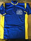 Vintage Cicli Conti Firenze Italian Cycling Jersey