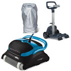 Maytronics Dolphin Nautilus Plus CC with Caddy  Cover Inground Pool Cleaner