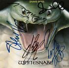 WHITESNAKE Deep Purple FULLY SIGNED David Coverdale Steve Vai Sarzo +2 AUTOGRAPH