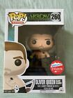 Fugitive Toys Exclusive Island Scarred Oliver Queen Funko pop #260 The Arrow TV