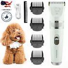 Pet Dog Cat Clippers Grooming Hair Trimmer Groomer Shaver Razor Quiet Clipper