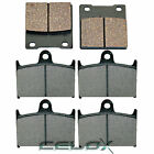 Front and Rear Brake Pads for Suzuki Bandit 1200 GSF1200S 1997-2000
