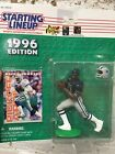 Starting Lineup 1996 NFL Deion Sanders Dallas Cowboys figurine and card