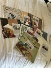 Lot Of 8 12x12 Premade Scrapbooking Page Kitch Boy Birthday