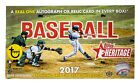 2017 Topps Heritage Baseball Factory Sealed Hobby Box
