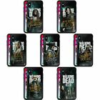 AMC THE WALKING DEAD SEASON 9 QUOTES BLACK HYBRID GLASS CASE FOR iPHONE PHONES
