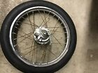 Honda Express Moped Scooter Front Wheel Tire Rim
