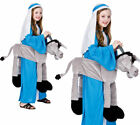 Ride On Grey Donkey Childrens Nativity Play Fancy Dress Costume One Size