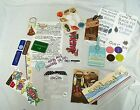 Lot Miscellaneous Scrapbooking Stickers Tags Rub Ons Travel Beach Camping West