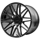 20 Inch Verde VFF01 Flow Form 20X10 5x120 +20mm Gloss Black Wheel Rim