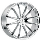 Status Goliath 22x95 5x120 +30mm Chrome Wheel Rim