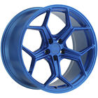 XO Helsinki 19x85 5x120 +35mm Electric Blue Wheel Rim