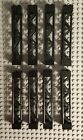 Lego Lot 8 Black Girder Pieces 2 Sections 58827 8637 7199 8709 7787