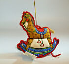 Hallmark Keepsake Vintage Ornament 1979 Rocking Horse - Fabric - #QX3407-NP