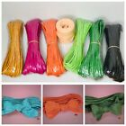NEW 525 ft Craft Twisted Hank Paper Bow Ribbon 45 175 Yard Lot Sustainable Eco
