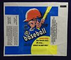 1971 OPC Baseball Card Pack Empty Wax Wrapper Big Buddy Gum Candy Variant Topps